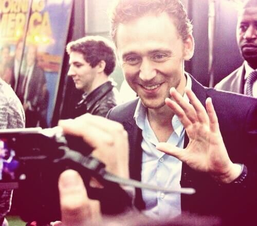 """Hollywood seemed like magic and I wanted to see behind the curtain."" -Tom Hiddleston my life in a nutshell"