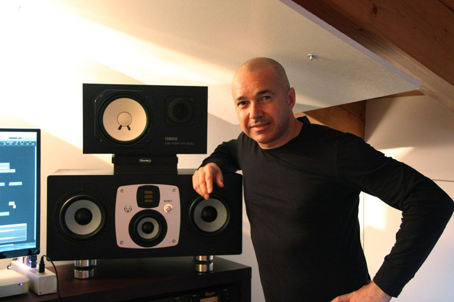 """Italian DJ Daniele Danieli swears by the pair of EVE Audio SC407s he has in his Chunga Studio:  """"I chose the EVE Audio SC407s due to their incredibly precise and clear sound reproduction, accurate separation of the different frequency ranges and perfect stereo imaging. The speakers' four ways allow me hear every single detail and it's a real treat to use them everyday."""""""
