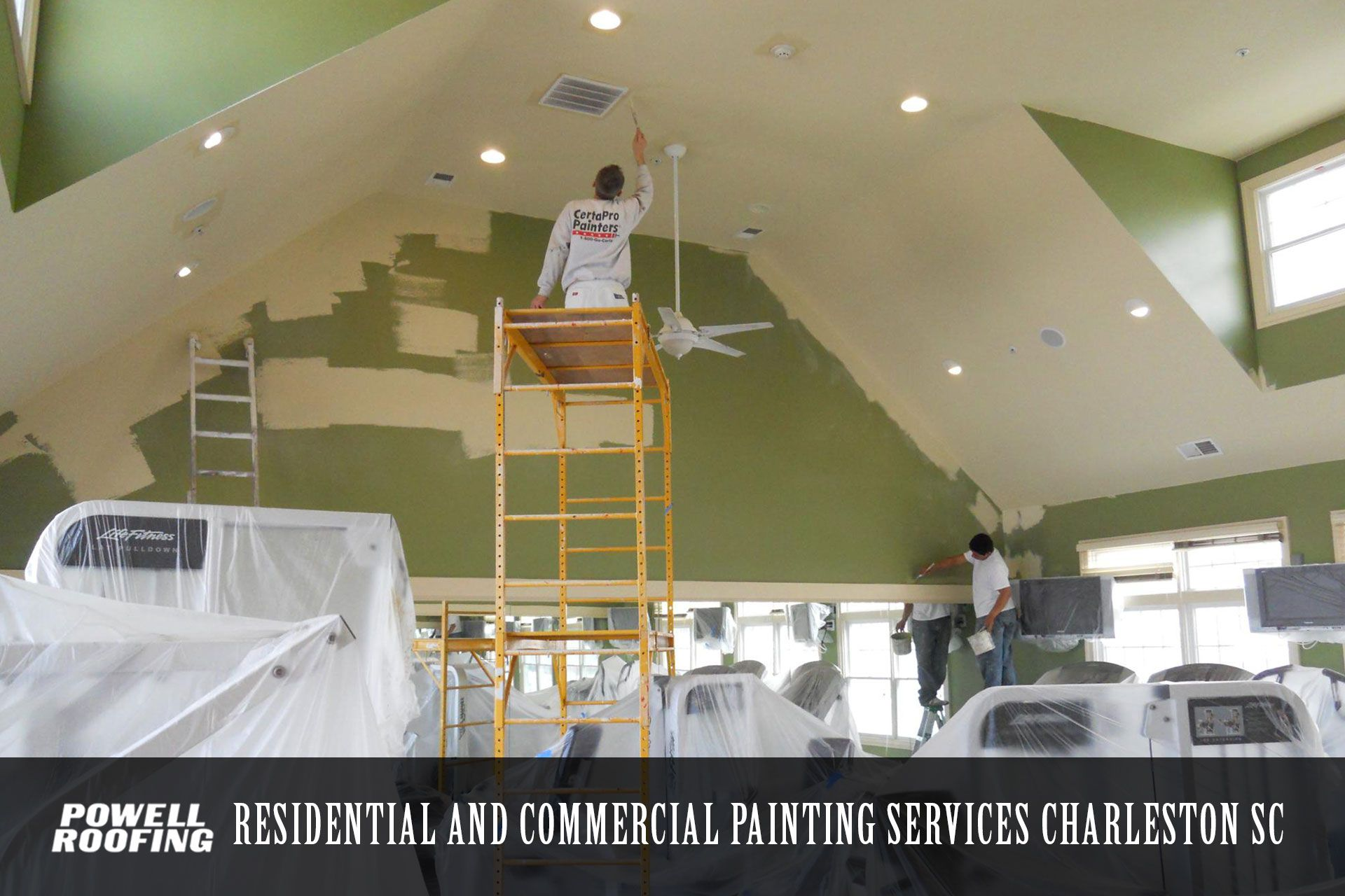 Best Experienced Commercial Painting Contractors In Charleston Sc Are Provided By Powell R Bathroom Remodeling Contractors Painting Contractors Home Insulation