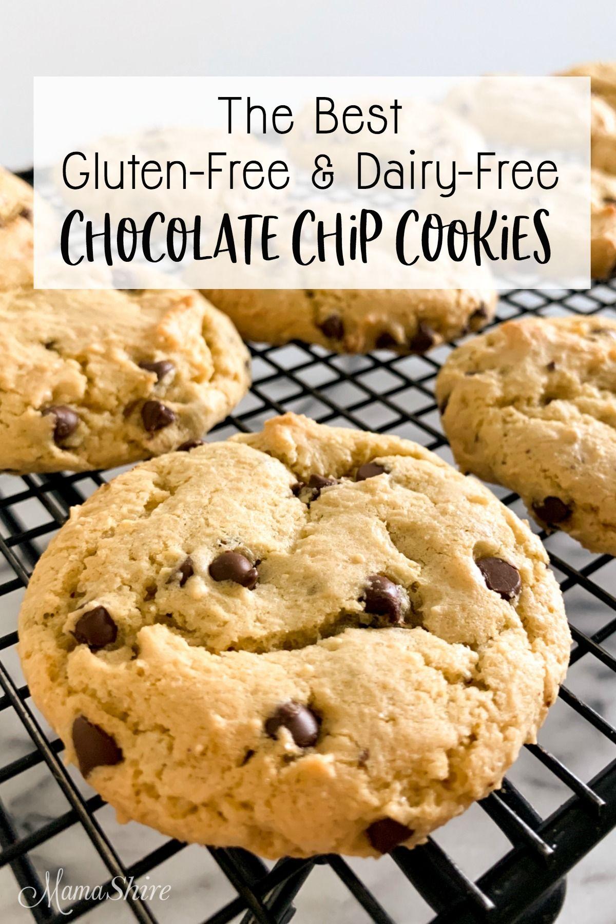 The Best Gluten Free Chocolate Chip Cookies Dairy Free Recipe