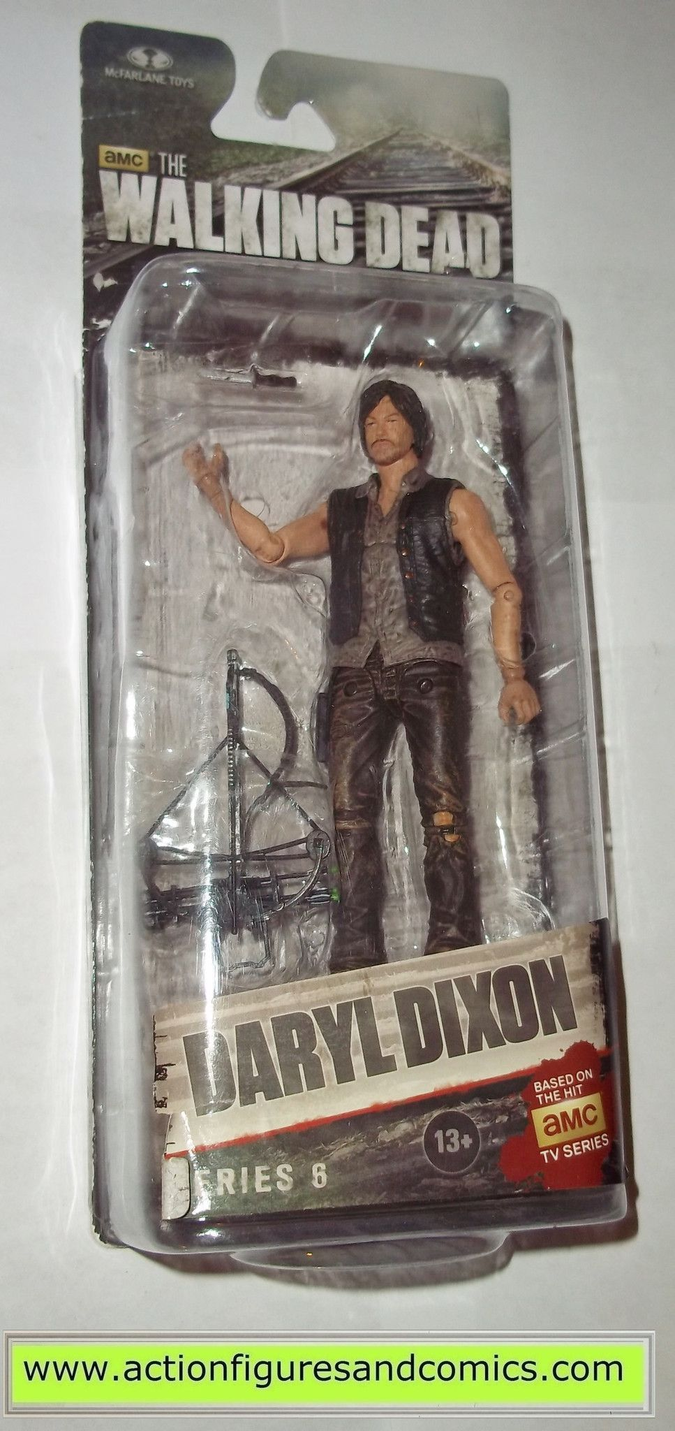 Mcfarlane walking dead series 6 daryl dixon action figure - The Walking Dead Daryl Dixon Series 6 Mcfarlane Toys Action Figures