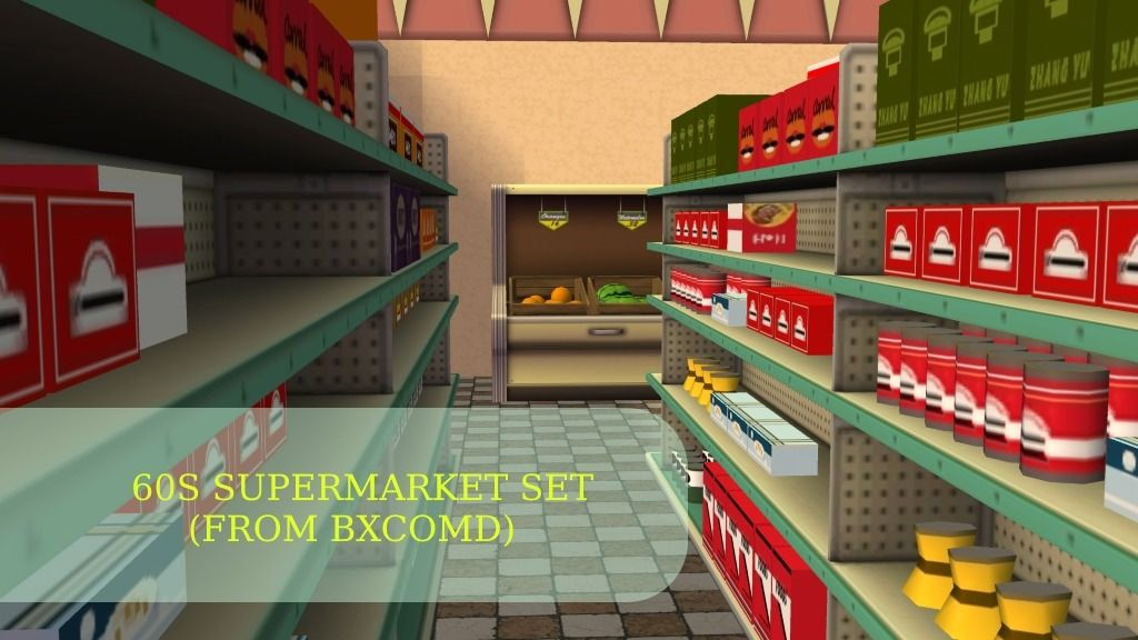 You can find over 30s meshes for your supermarket  ATENTION