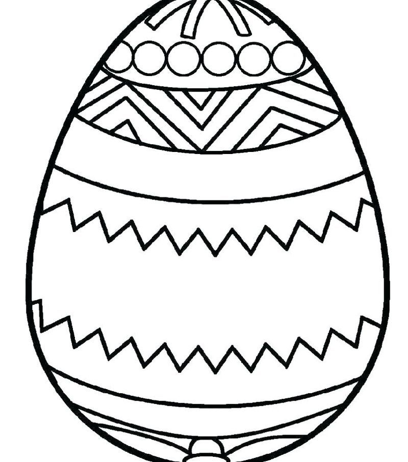 Awesome Easter Bunny Coloring Pages To Welcome The Easter Day Free Coloring Sheets Egg Coloring Page Coloring Eggs Easter Egg Template