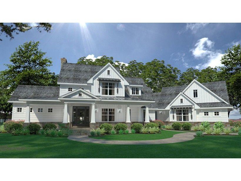 ePlans Farmhouse House Plan u2013 Contemporary Farmhouse