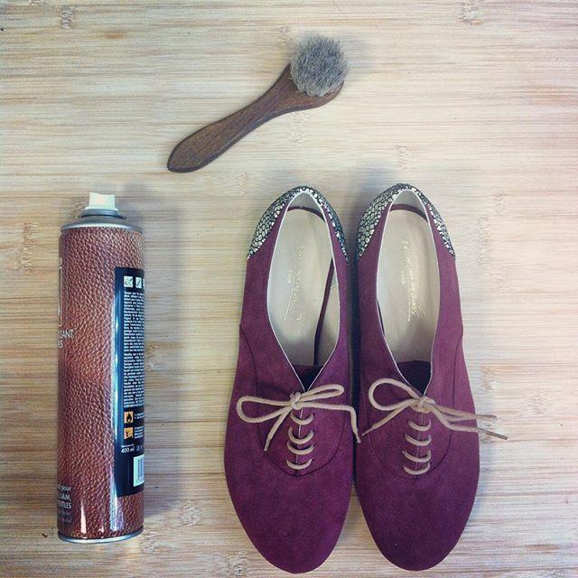 En ces temps pluvieux n'oubliez de bichonner vos jolis petits souliers !! Un peu…