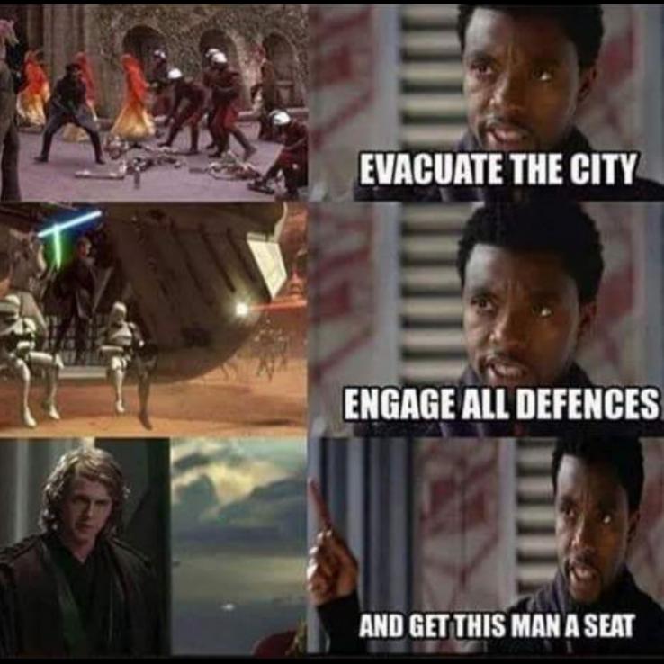 Disney Civil War 20 Hilarious Star Wars Vs Mcu Memes In 2020 Star Wars Humor Star Wars Jokes Funny Star Wars Memes