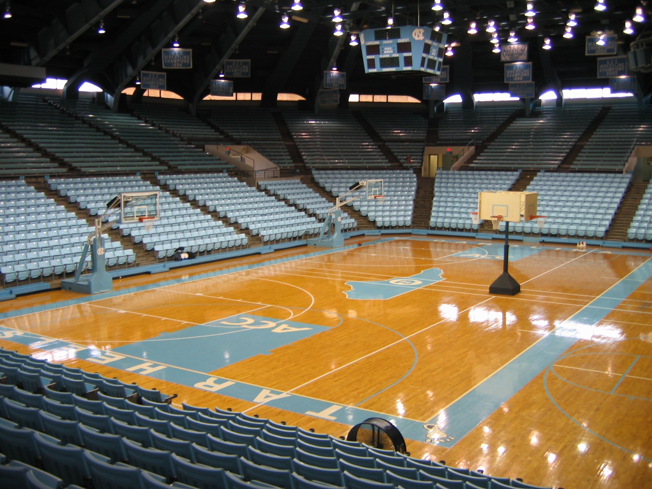 This Is Where I Played College Basketball The Dean Smith Center In Chapel Hill Or The Dean Dome As It Is Nc State Basketball Unc Sports Tarheels Basketball