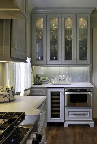 Best Very Functional And Beautiful Glass Kitchen Cabinets 640 x 480