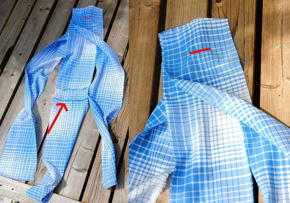 DIY Tutorial. How to sew a big bag of fabric.