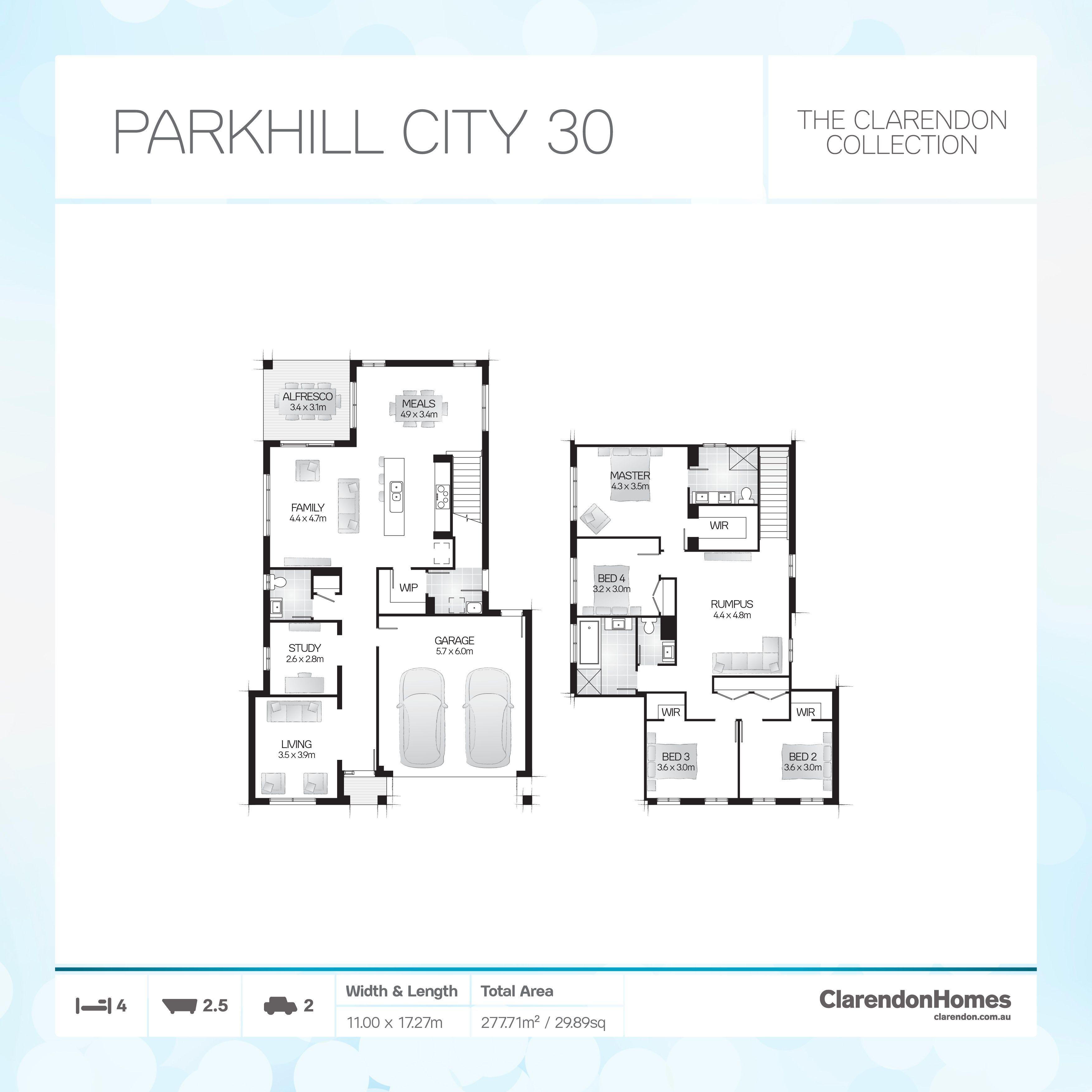 Clarendon Homes - City. Parkhill City 30. Sanctuary & Surprise - a ...