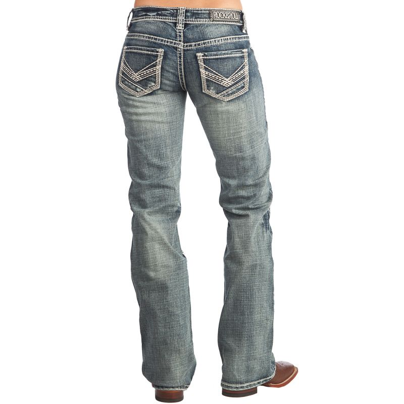 8736182a75b Shop Women s Rock N Roll Cowgirl Riding Jeans