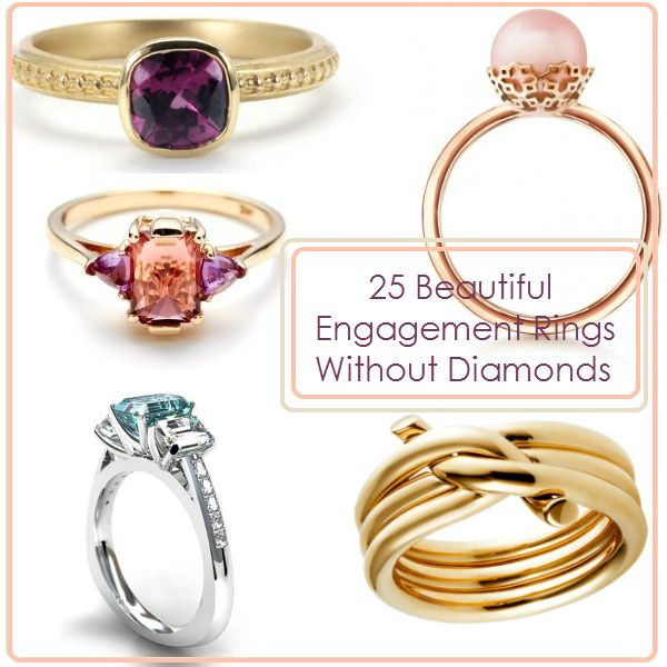 Marvelous 25 Beautiful Engagement Rings Without Diamonds  Http://weddingideasbyyou.com/2014/