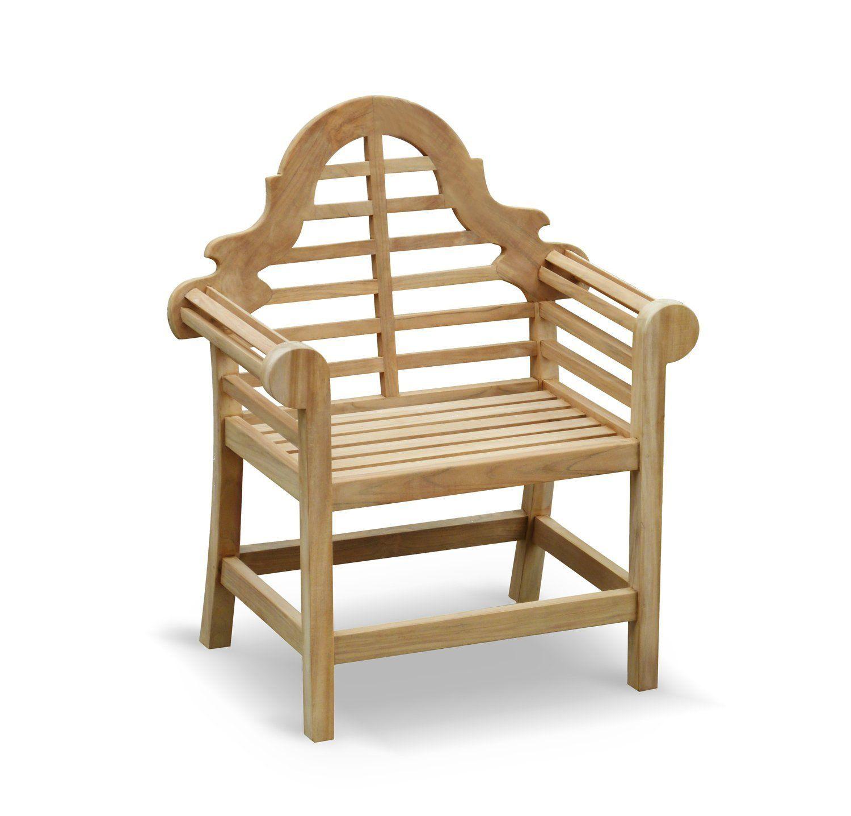 Lutyens Garden Armchair FULLY ASSEMBLED In Premium Grade Sustainable Teak    Jati Brand, Quality U0026