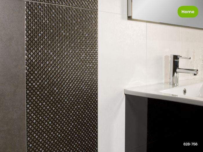 Inspiratie metallook tegels in moderne badkamer jan groen