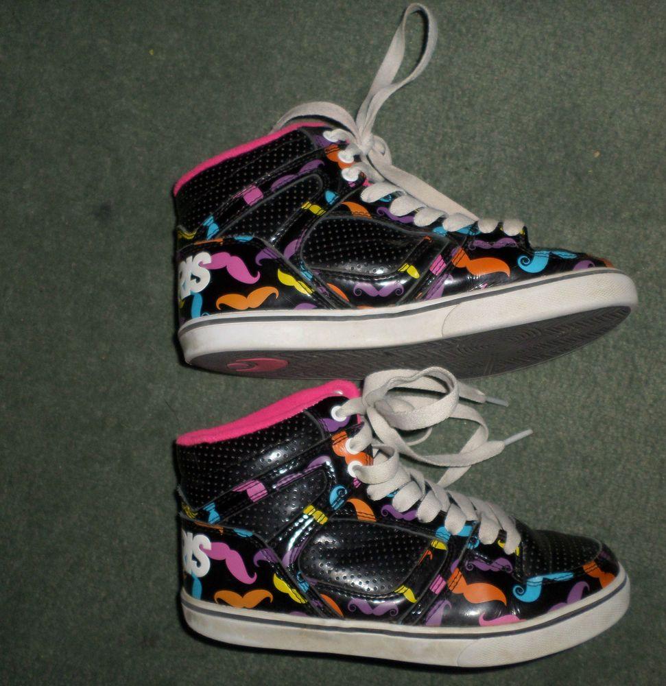 c559caafed9 Youth Girls Pink, Black, White OSIRIS High Top Fashion Sneaker Shoes, Size  2 #Osiris #LaceUpHighTopGraphicFashionAthleticShoes