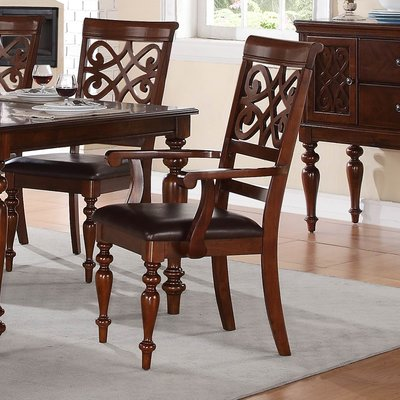 Darby Home Co Leith Side Chair In 2020 Solid Wood Dining Chairs
