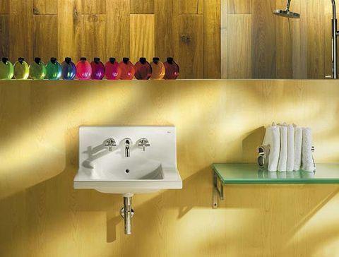 8 Lavabos monísimos para baños pequeños