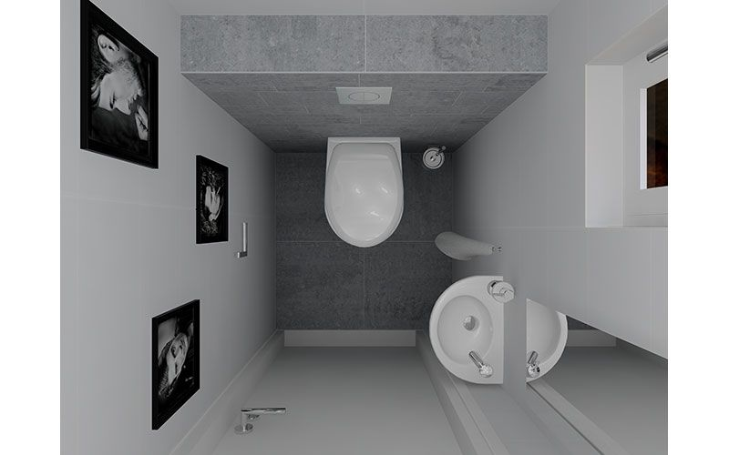 compact downstairs toilet design ideas - Google Search