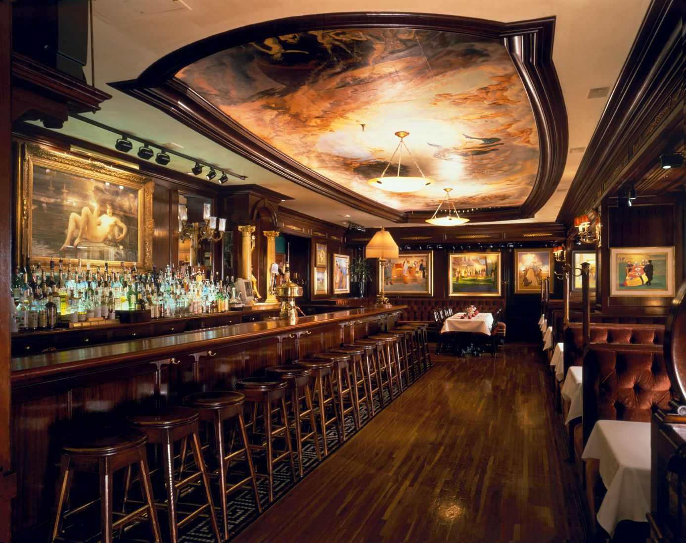 Old Ebbitt Grill In Washington D C Is The Oldest Bar District Elished 1856