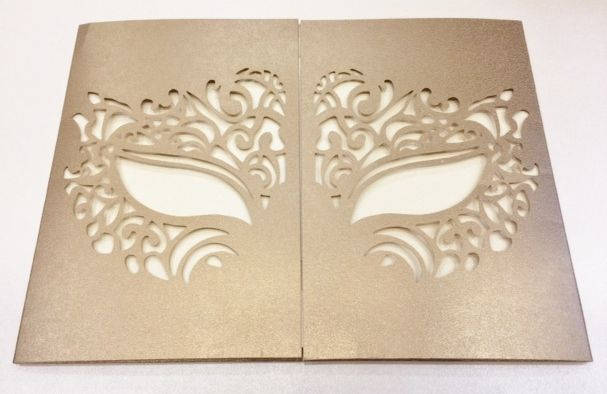 venetian ball invitation idea | Masquerade | Pinterest ...
