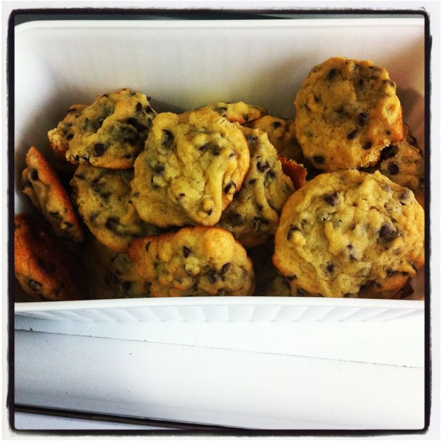 Chocolate chip cookies that I've done