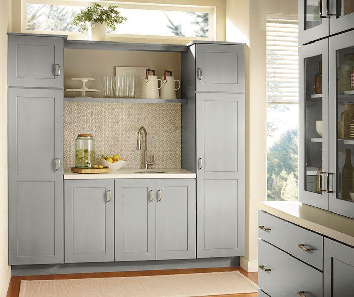 Gresham Cabinet Door Diamond At Lowes Shaker Style Kitchen Cabinets Kitchen Cabinet Styles Shaker Style Kitchens