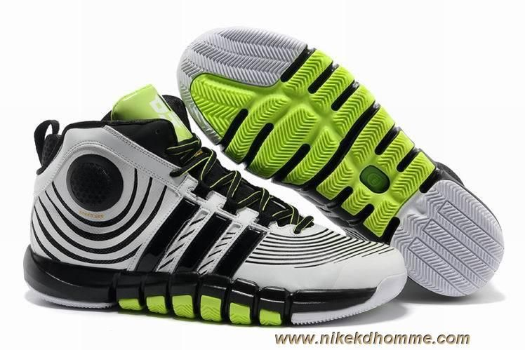 the latest 98757 54f3e 2013 Adidas adiPower Howard 3 White Black Volt For Sale