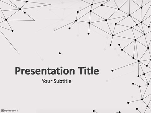 geometry net templates - geometric molecules powerpoint template my favs