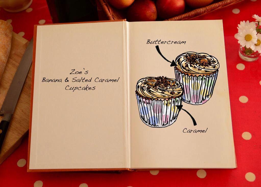 Comic Relief Bake Off 2015 Zoella's Cupcakes | Comic ...
