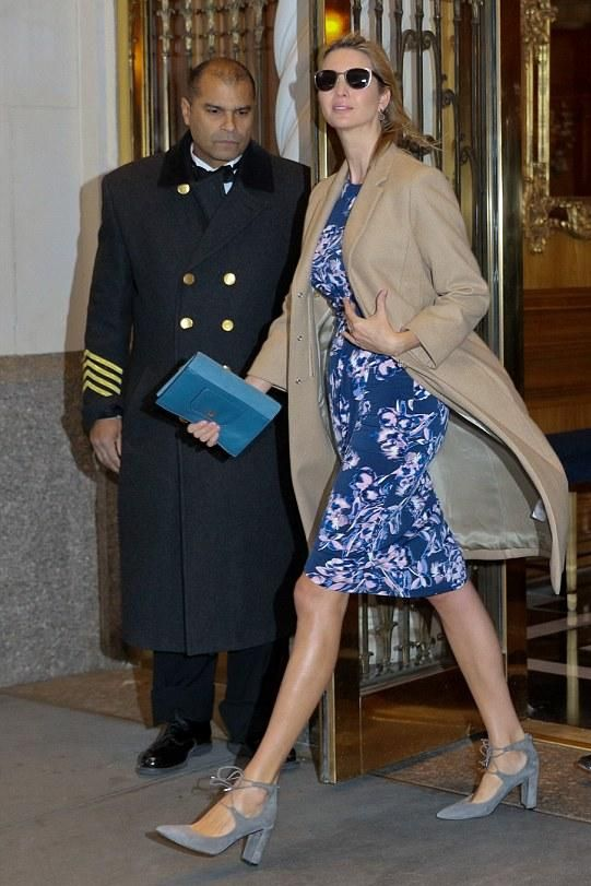 Ivanka Trump Leaving Her Apartment January 5 2016 - Star Style