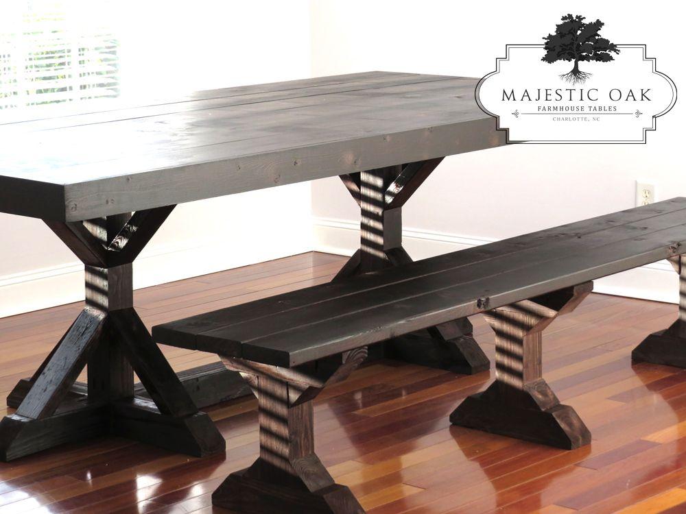 Farmhouse Table Gallery Charlotte Nc Majestic Oak