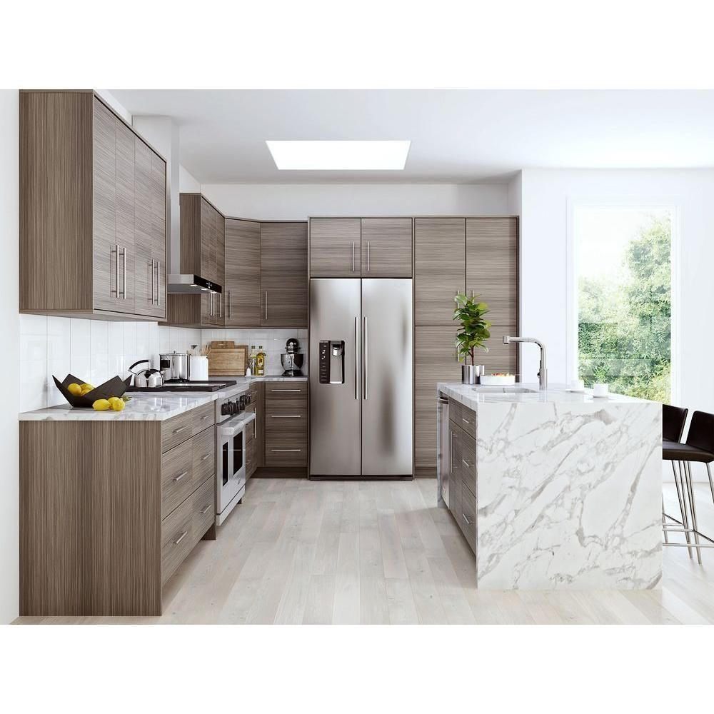 Home Decorators Collection 12 75x12 75x 75 In Monaco Ready To Assemble Cabinet Door Sample In Glacier T Kitchen Cabinet Colors Kitchen Remodel Kitchen Design