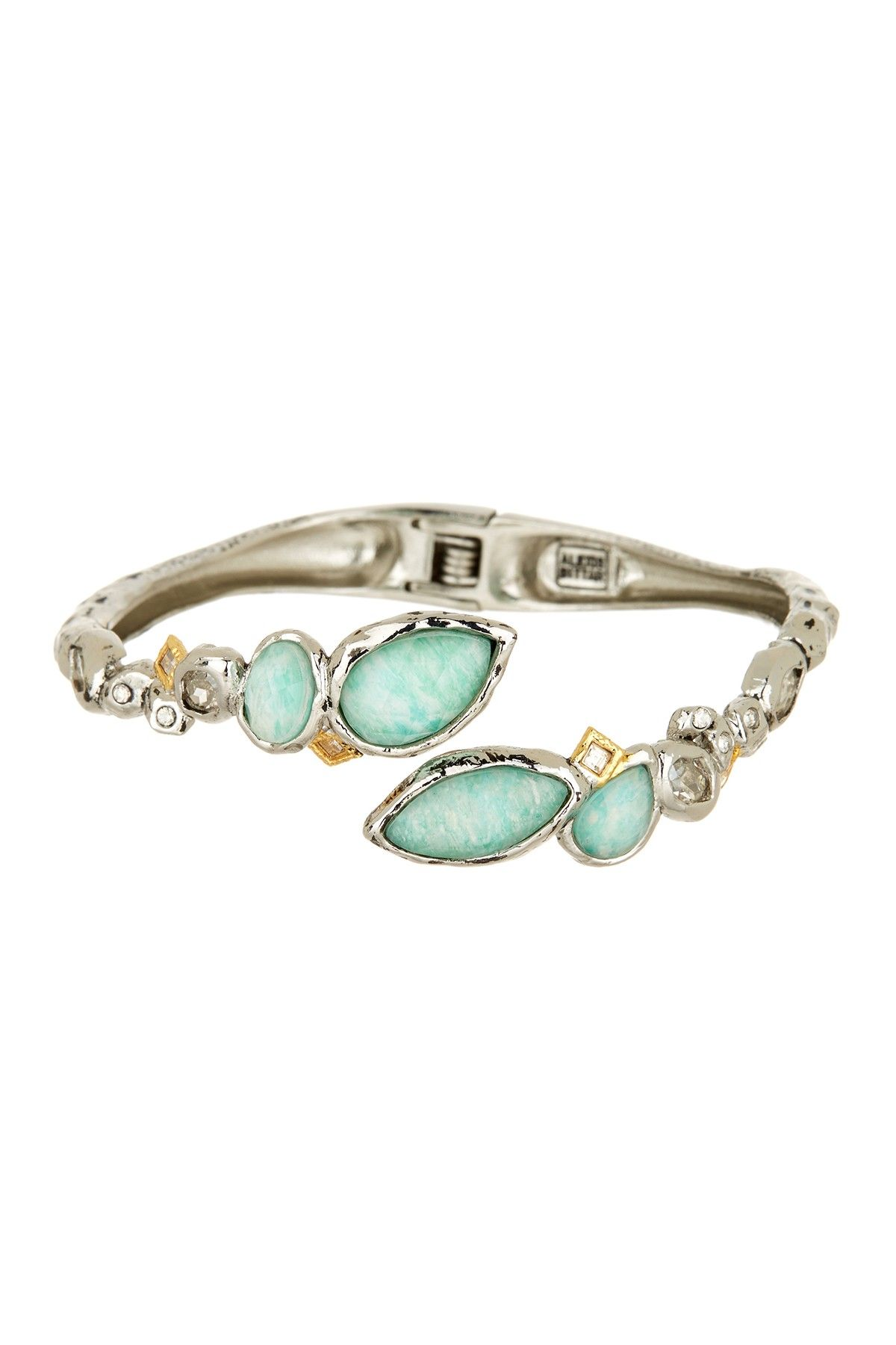 Elements Rocky Bypass Hinged Bangle by Alexis Bittar on @nordstrom_rack