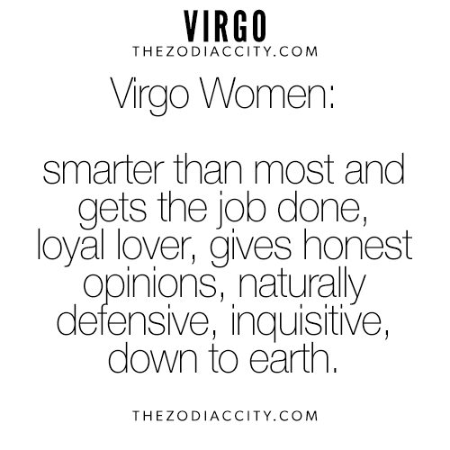 The virgo female