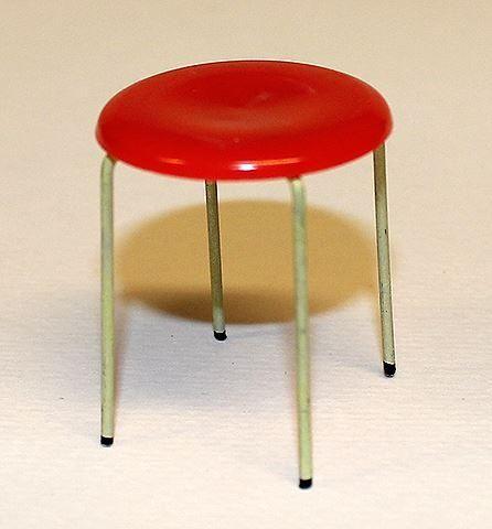 Köksbord till dockskåp, Brio från ca 1960 70 talet