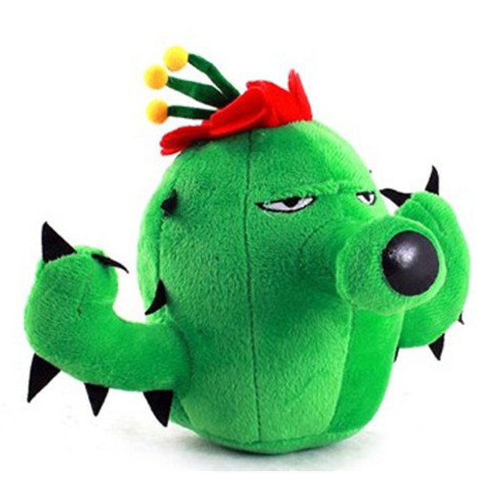 FREE FAST USA SHIPPING NEW Plants vs Zombies Cactus Plush Toy