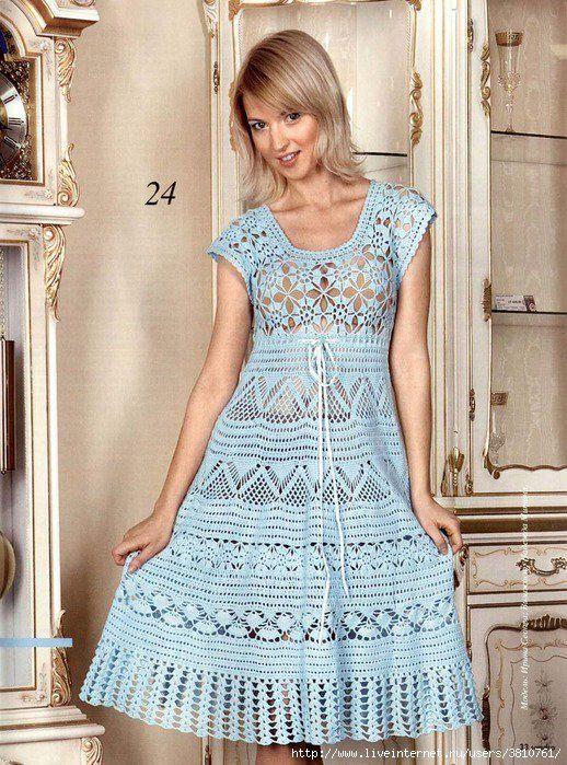 PDF Pattern only a crochet spring/summer crochet dress by AsDidy ...