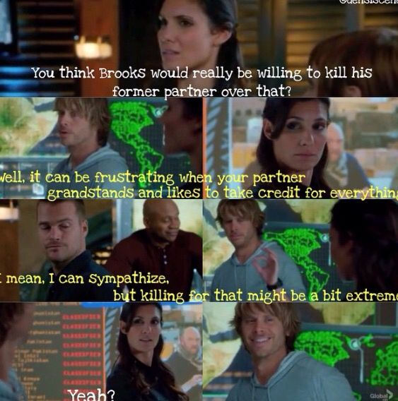 kensi and callen relationship advice