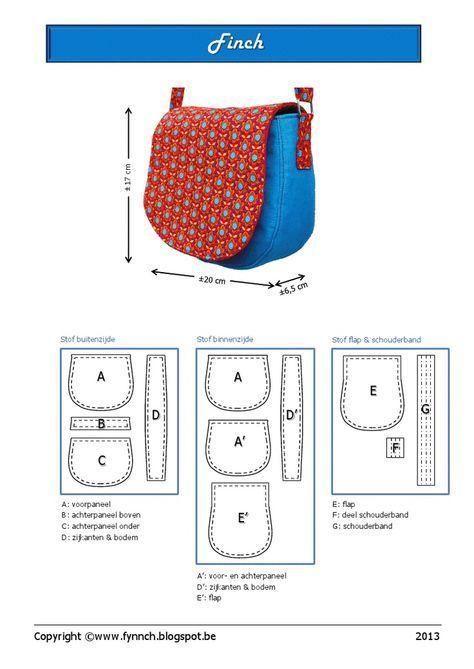 sac bandouliere: | DIY | Pinterest | Bolsos, Mochilas y Costura