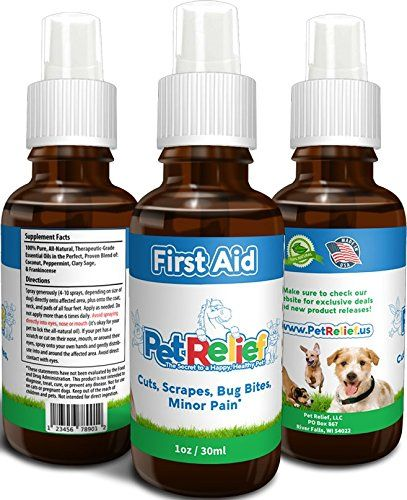Dog First Aid Spray, Safe and Natural Wound Care For Dogs