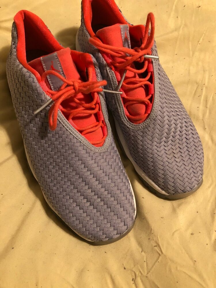 reputable site 94d75 2f455 Women s Jordan Futures size 5.5 (womens 7.5) grey and orange. Gently worn.   fashion  clothing  shoes  accessories  womensshoes  athleticshoes (ebay  link)