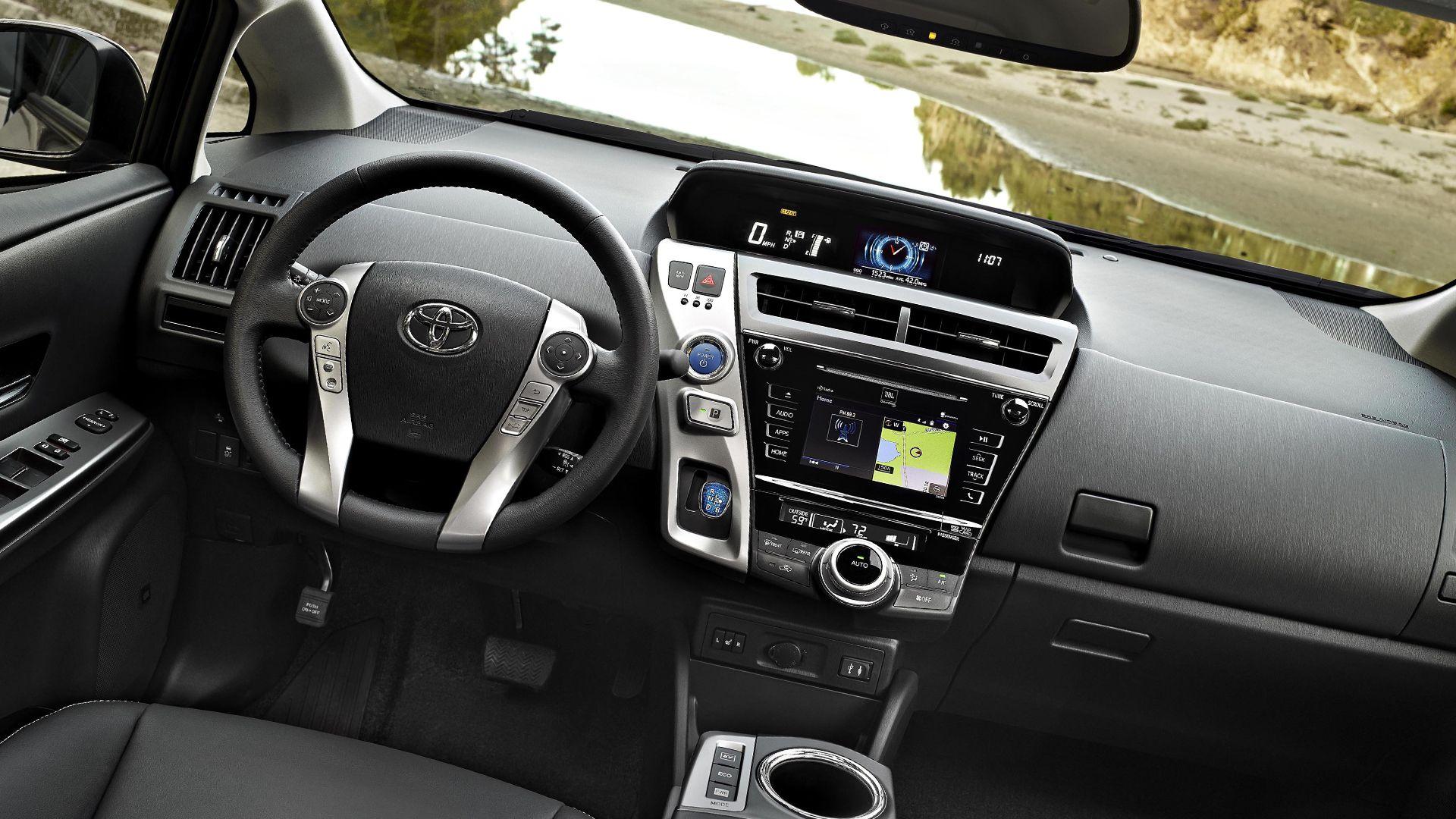 New 2019 Toyota Prius v Interior Design