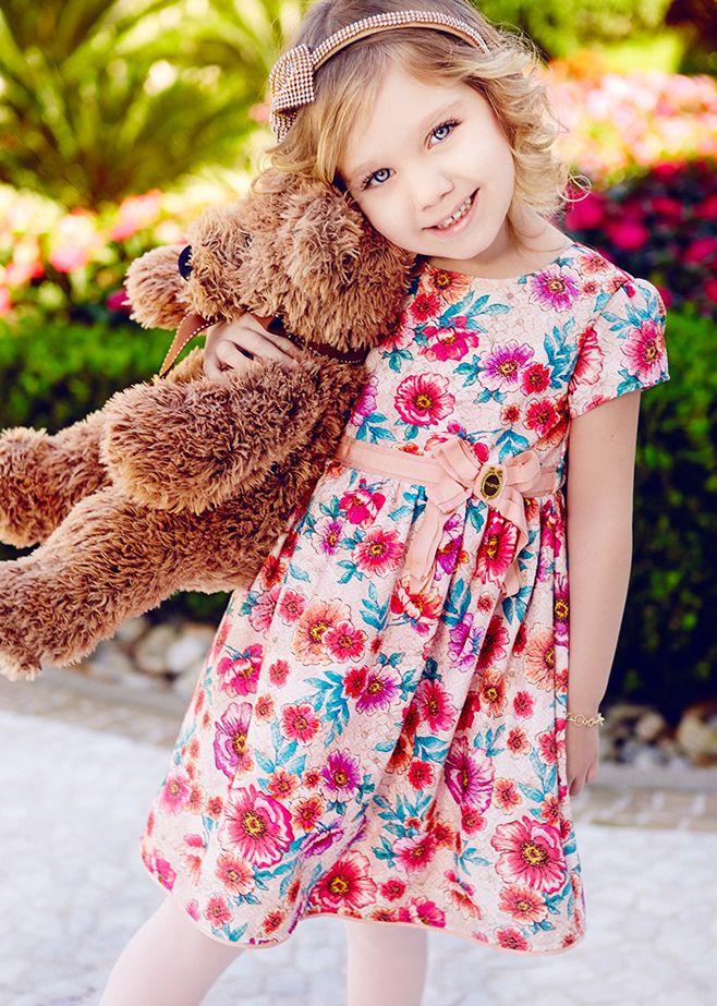 2c730e6598 Meninas Infantis, Roupas Infantis, Moda Para Crianças, Roupas Infantil  Feminina, Crianças Meninas