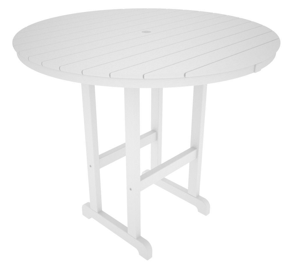"POLYWOOD™ 48"" Round Bar Height Table"