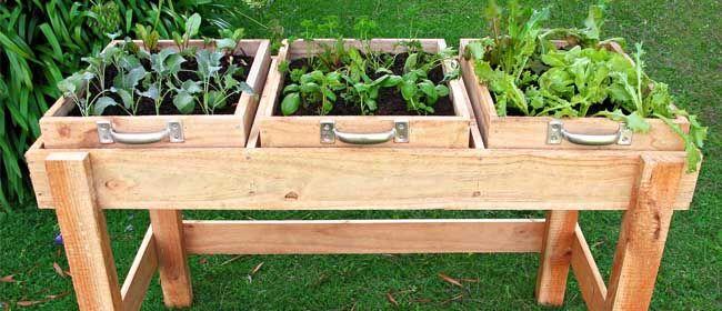 Diy Garden Bench No Room In The Garden For Salad Greens Or 640 x 480