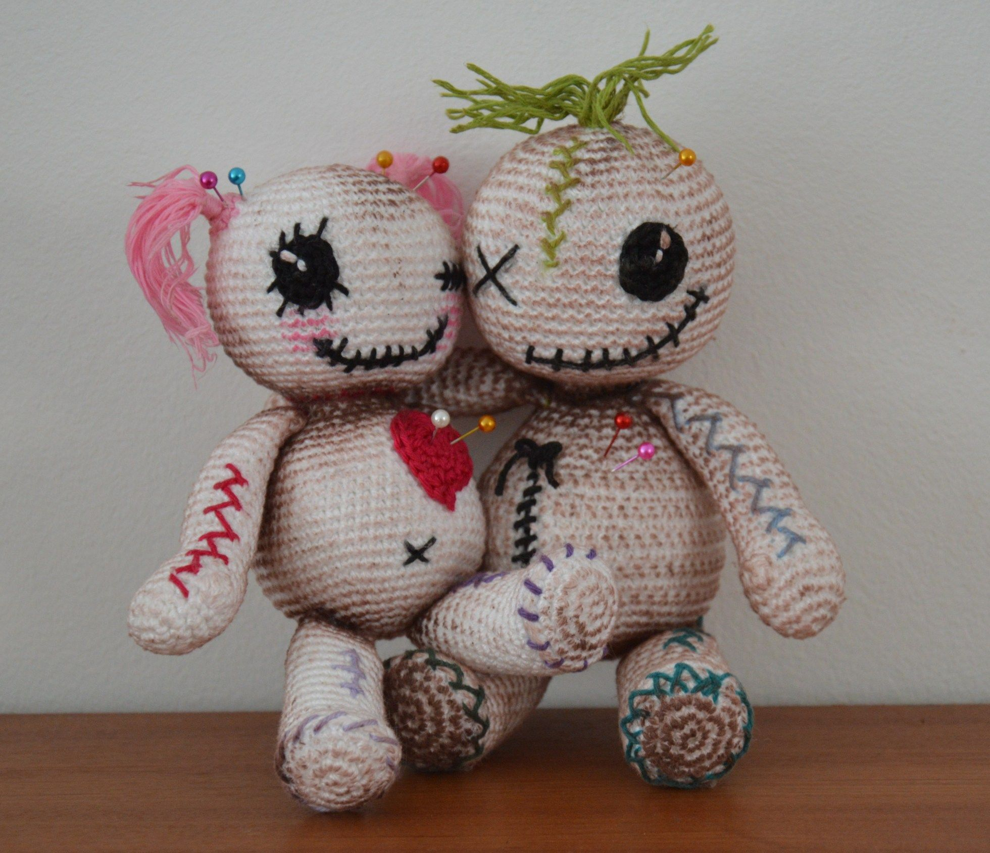 Voodoo Dolls By Amigurumibb Tejer Crochet Voodoo Dolls Und Dolls