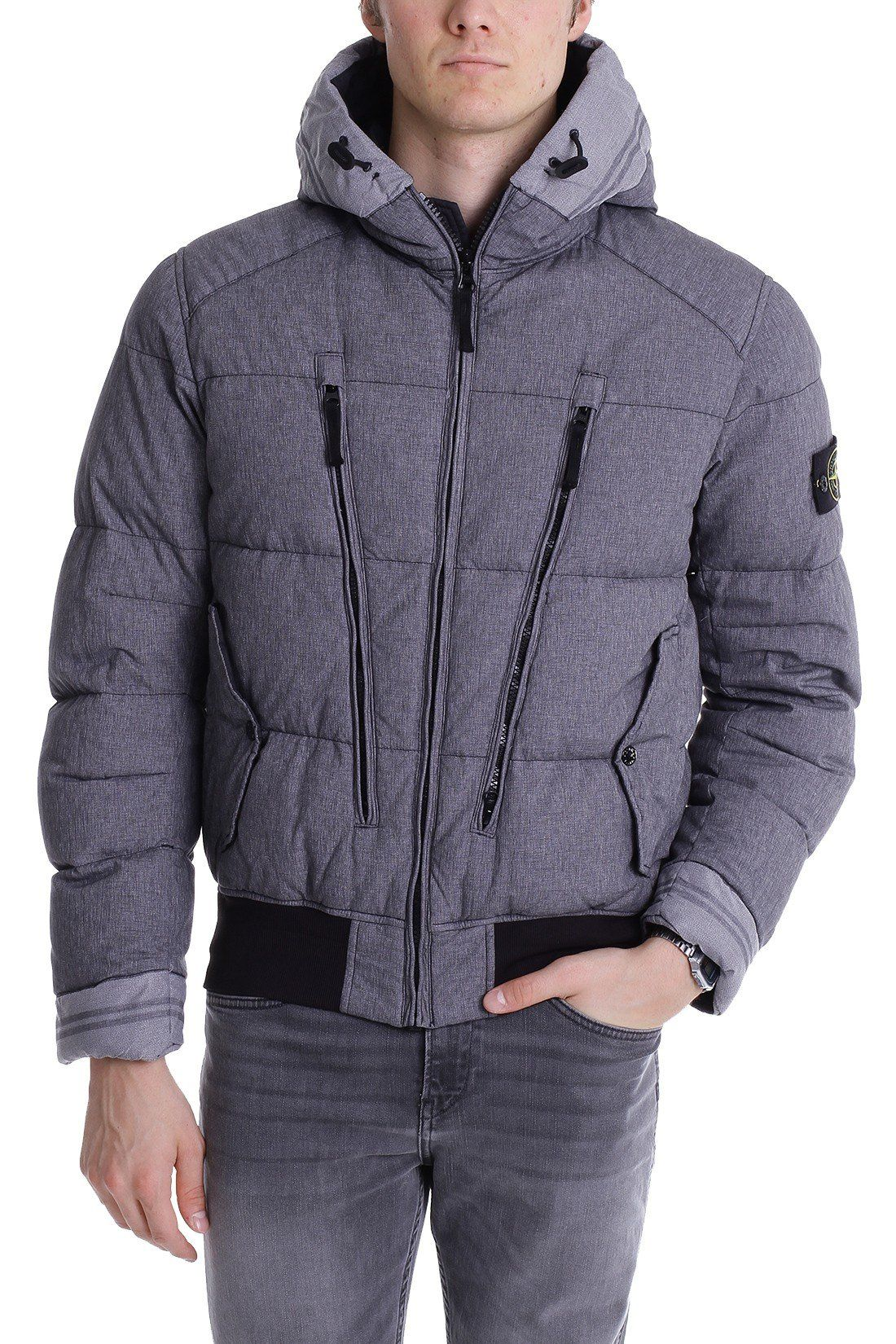 Stone Island Herren Jacke 611542048 In Blue Grey V0063 Farbe Grau Grosse M Amazon De Bekleidung Jacken Herren Jacken Bekleidung