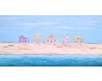 Original Modern Landscape Painting of di LittleSparrowGallery