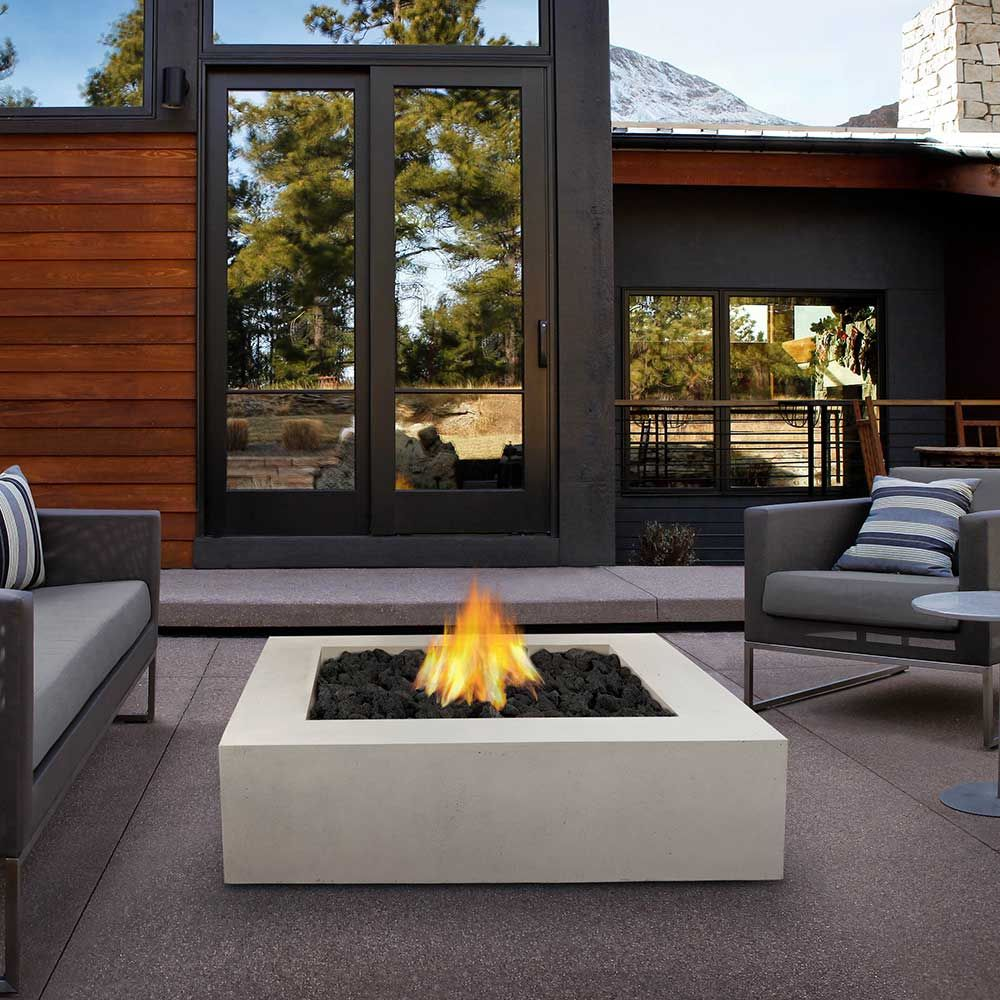 Take A Video Tour Of Modern Homes Propane Fire Pit Table Fire Pit Table Outdoor Fireplace [ 1000 x 1000 Pixel ]