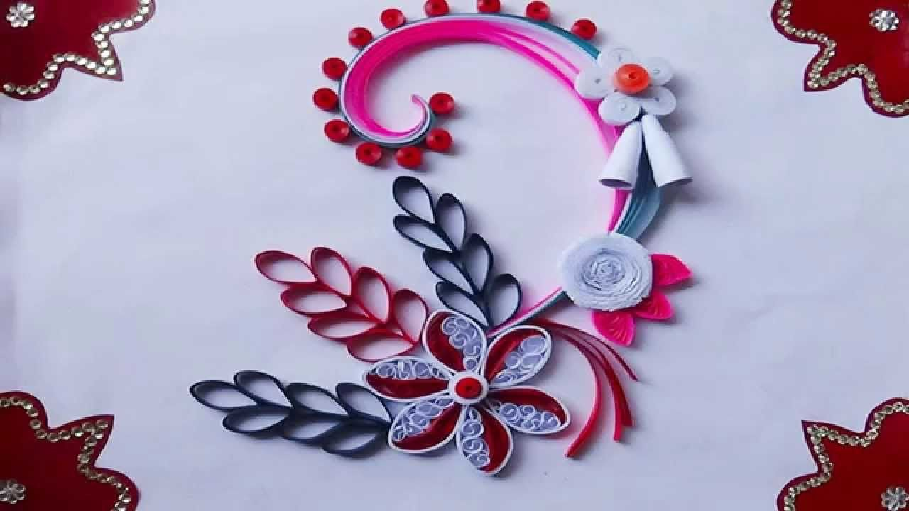 Quilling Artwork How To Make Beautiful Greeting Card For Christmas
